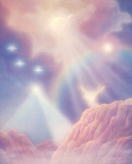 Celestials arrive by Gilbert Williams - Copy