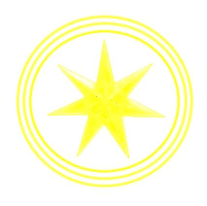 7-point-fuchsia-fantasy-star-lantern-20 - Copy - Copy - Copy - Copy