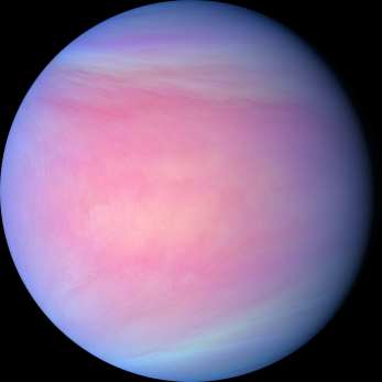 Venus dayside via PLANET-C Project Team EuroPlanet.